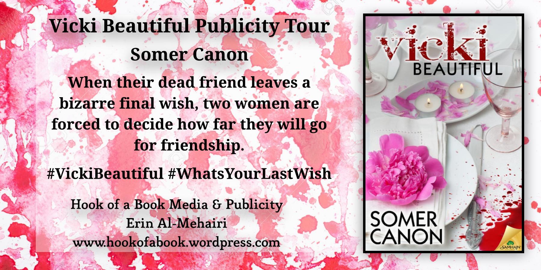 Vicki Beautiful tour graphic